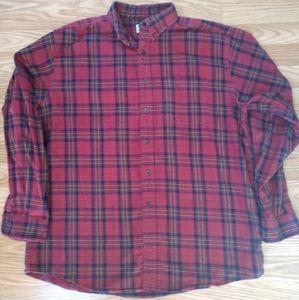 LLBean flannel
